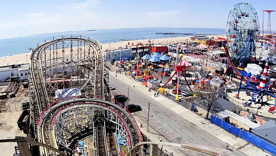 coney island amusement park