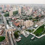 Downtown Brooklyn DUMBO Aerial