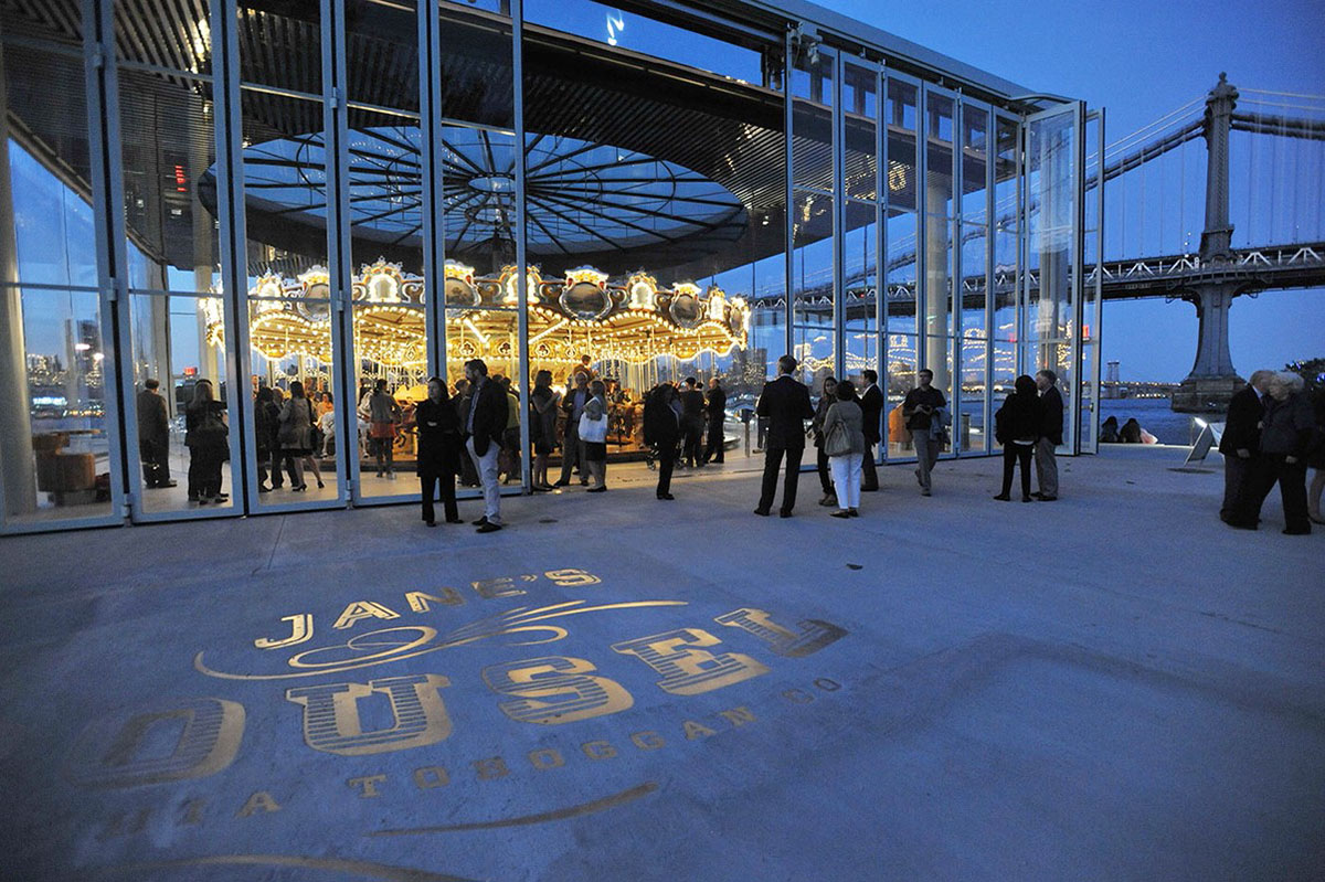 NYC Date Night Ideas: Janes Carousel in Dumbo